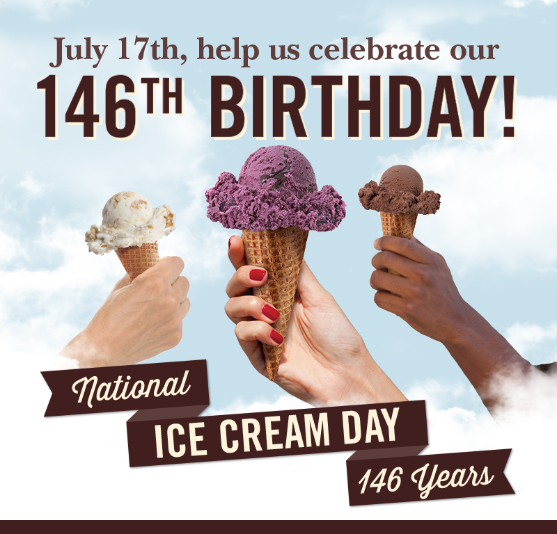 National Ice Cream Day Sale