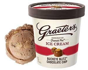 Graeter's Buckeye Chocolate Chip Ice Cream