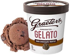 Dark Chocolate Truffle Gelato
