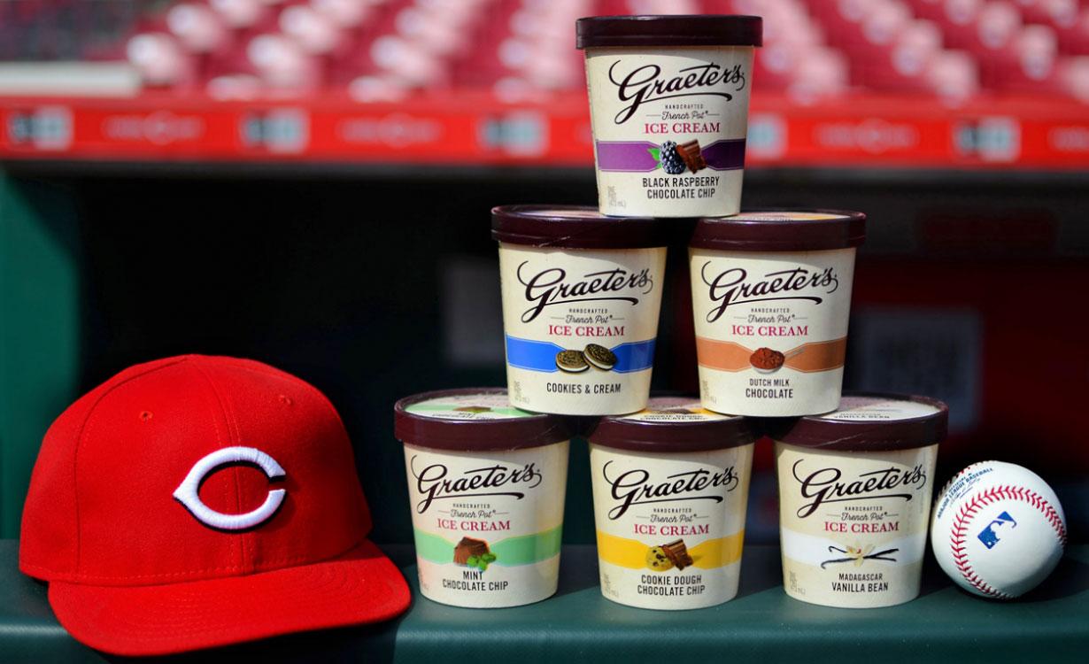 Cincinnati Reds Graeter's Ice Cream