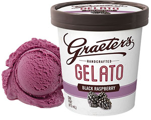 Black Raspberry Truffle Gelato
