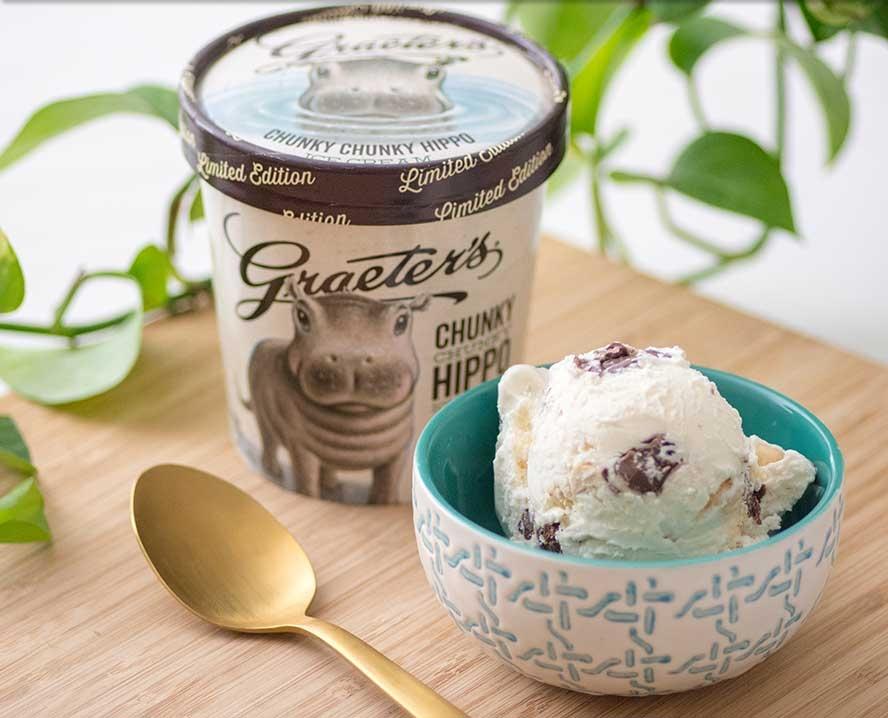 Chunky Chunky Hippo Ice Cream