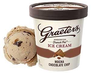Graeter's Mocha Chocolate Chip Ice Cream