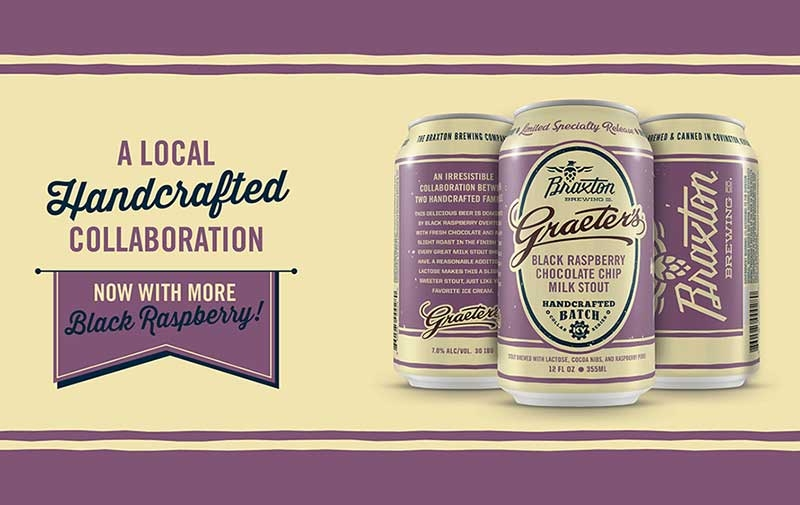 Braxton Brewery and Graeter's Milk Stout Collaboration