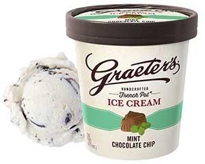 Graeter's Mint Chocolate Chip Ice Cream