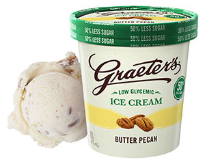 Low Glycemic Butter Pecan Ice Cream