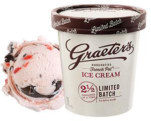 Graeter's Cherry Chocolate Chip Ice Cream