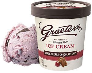 Graeter's Black Cherry Ice Cream