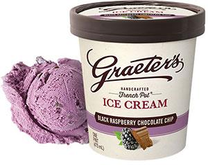 Graeter's Black Raspberry Ice Cream