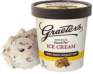 Graeter's Cookie Dough Chocolate Chip Ice Cream
