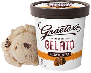 Graeter's Hazelnut Truffle Gelato