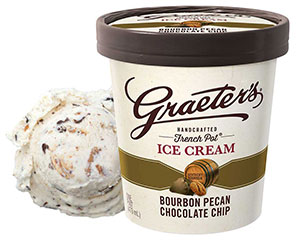 Graeter's Bourbon Pecan Chocolate Chip Ice Cream