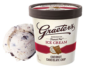 Graeter's Coconut Chocolate Chip Ice Cream