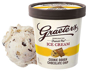 Graeter's Cookie Dough Chocolate Chip Ice Cream
