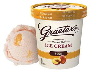 Graeter's Peach Ice Cream