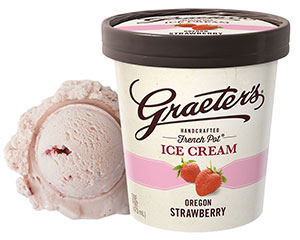 Oregon Fields Strawberry Ice Cream
