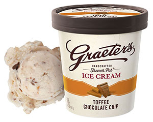 Graeter's Toffee Chocolate Chip Ice Cream
