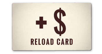 Reload Gift Card