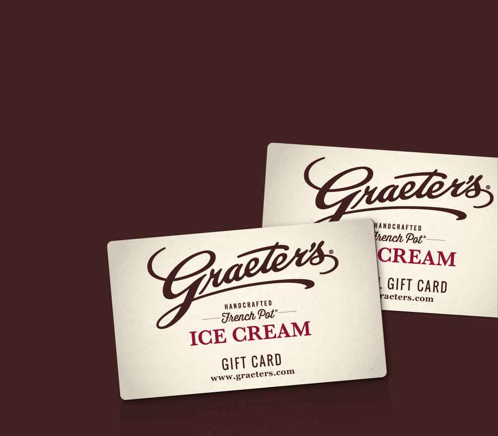 Graeter's Ice Cream Gift Cards