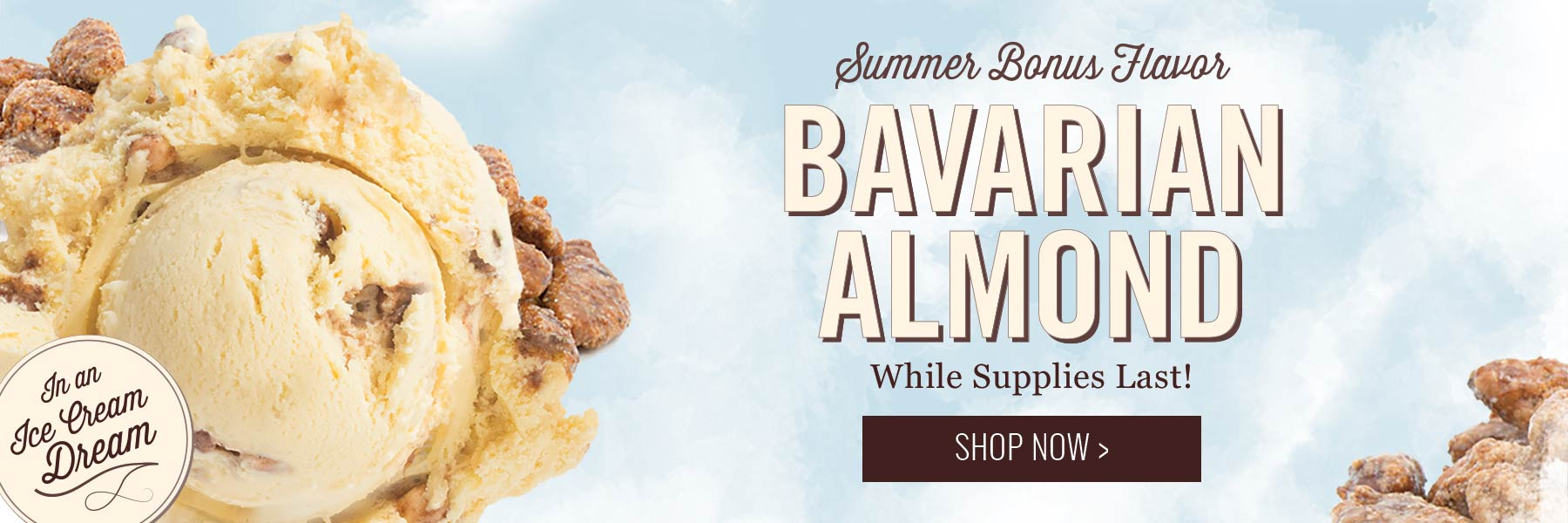 Graeter's Bavarian Almond Ice Cream