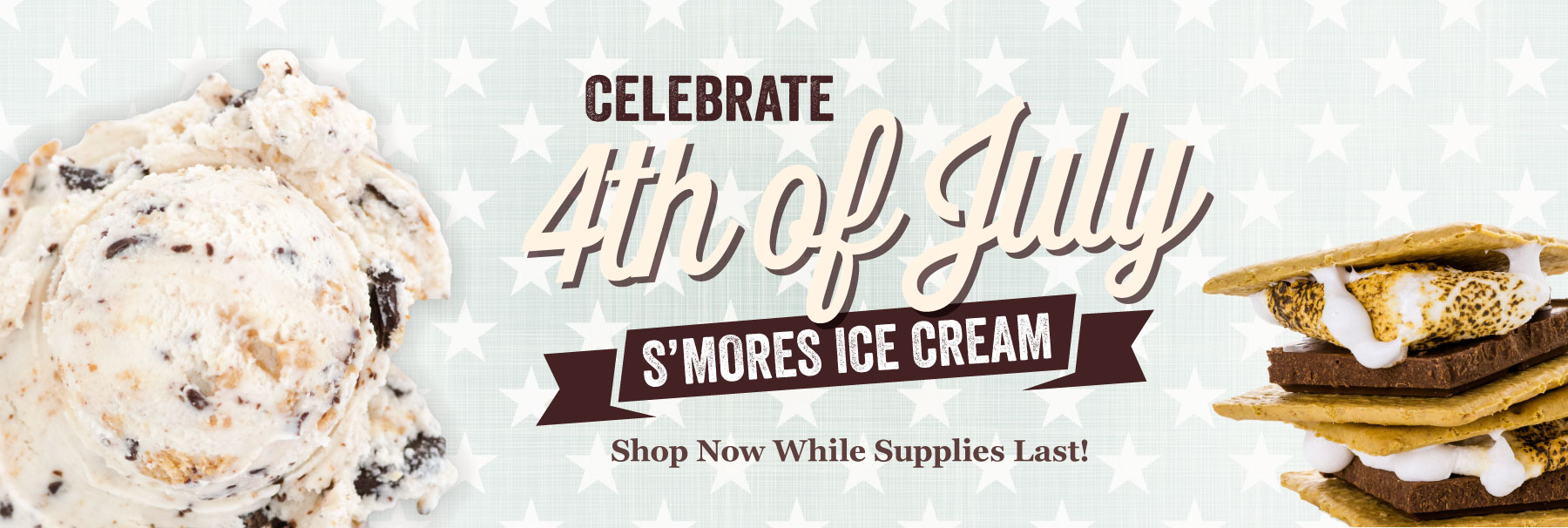 Smore Ice Cream Available Now