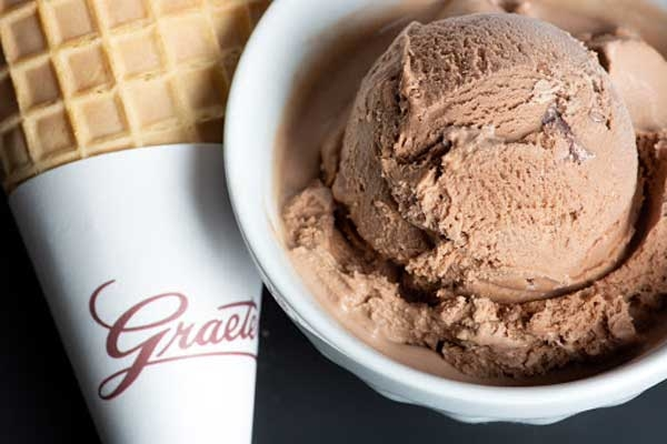 Caramelized Chocolate Truffle Ice Cream