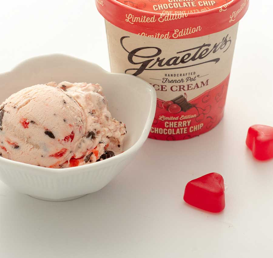 Graeter's Cherry Chocolate Chip Ice Cream is Back