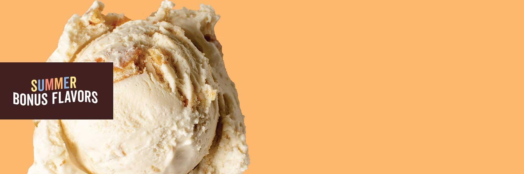 Maple Cinnamon Crunch Ice Cream