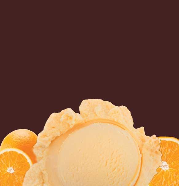 Orange and Cream Ice Cream