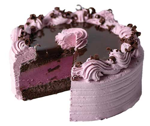 Graeter's Black Raspberry Bliss Ice Cream Cake