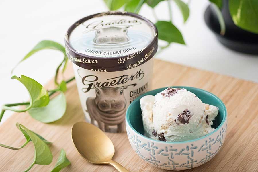 Graeter's Chunky Chunky Hippo Ice Cream