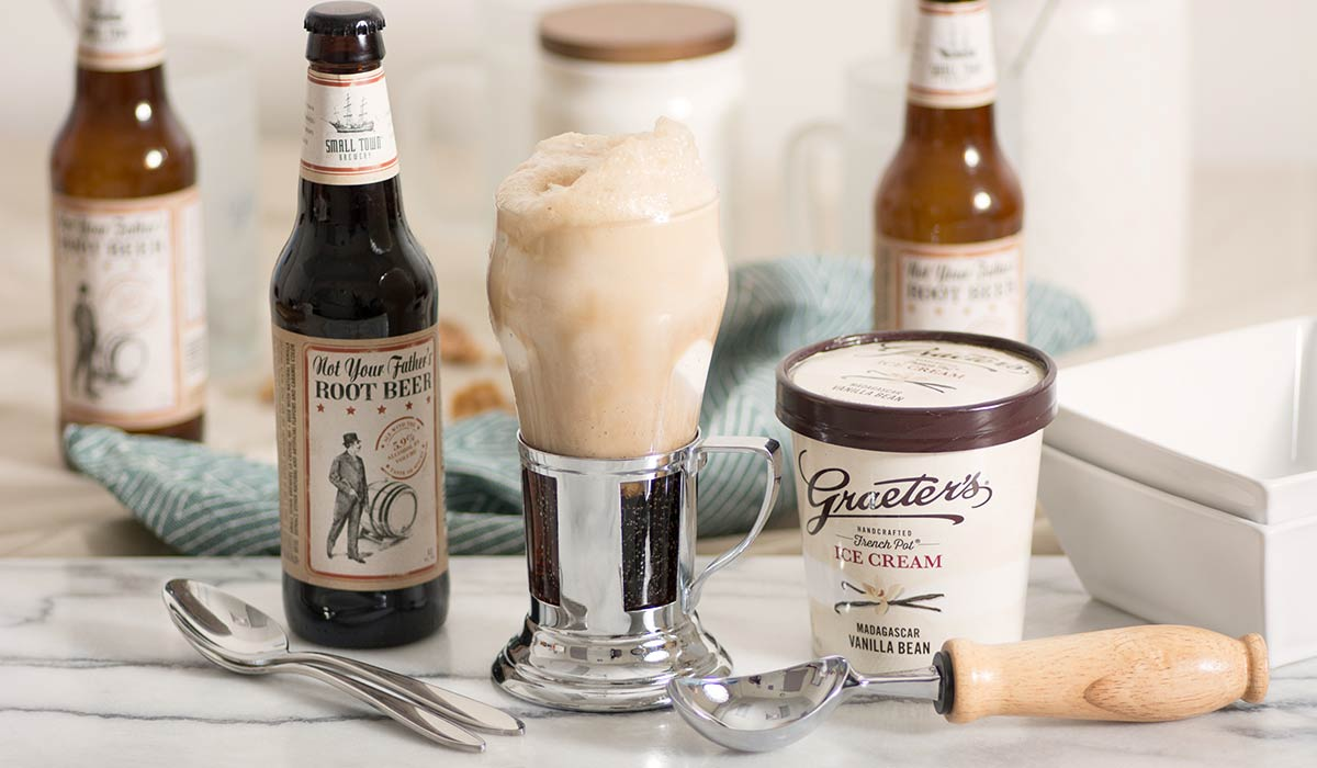 Graeter's Root Beer Float