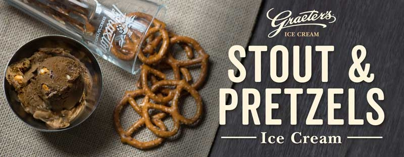 Graeter's Stout and Pretzels