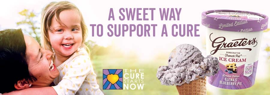 Graeter's Ice Cream partners with The Cure Starts Now Foundation